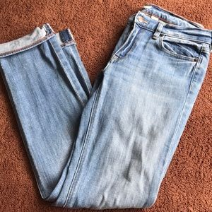 Jcrew straight leg jeans EUC